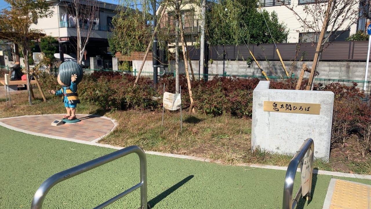 コスプレイベント会場の鬼太郎広場
