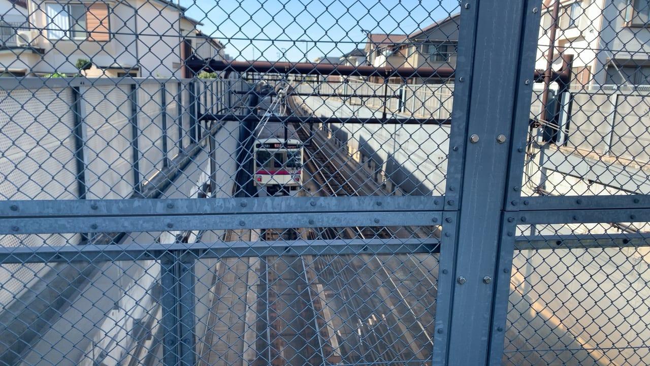 鬼太郎スポットは電車を見れる