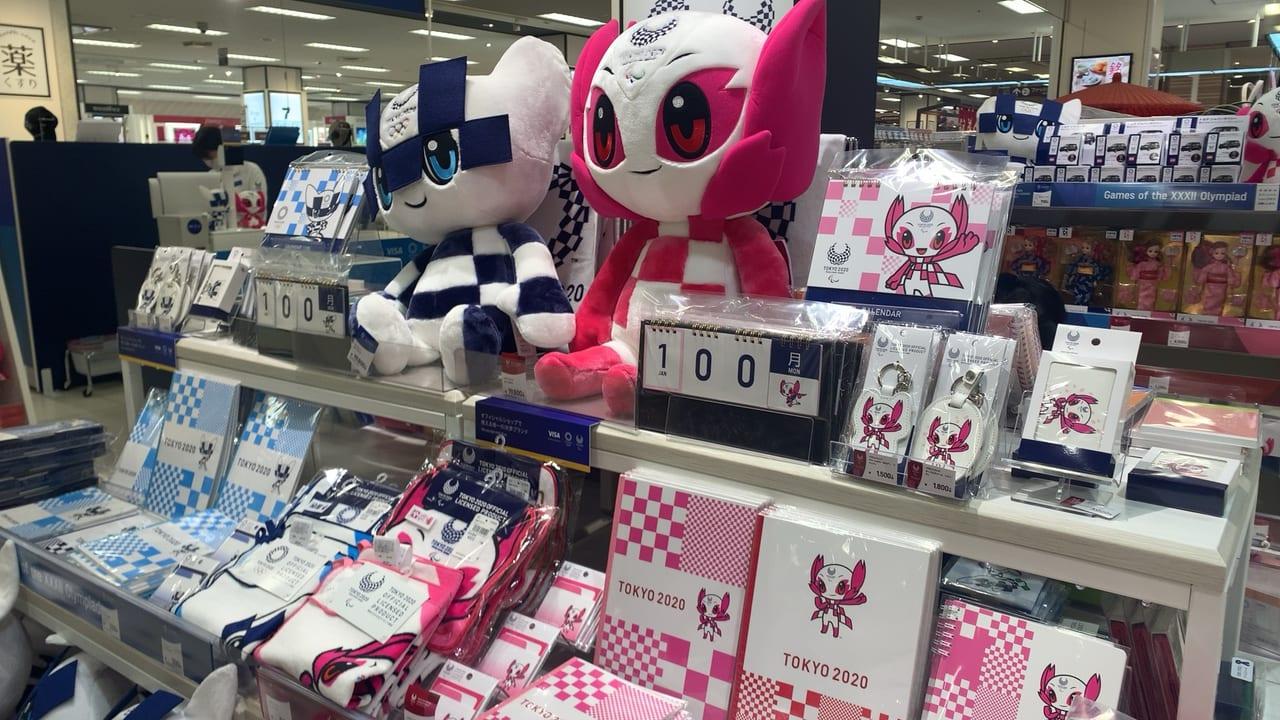 イトーヨーカドー国領店にオープンした東京2020オフィシャルショップ